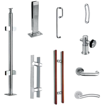 SS Baluster/SS Door Handle/Glass Fitting
